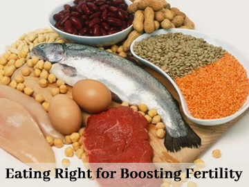 Eating Right for Boosting Fertility What infertility specialists in Delhi Say