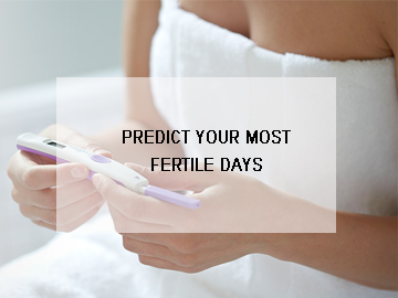 Predict your most Fertile Days