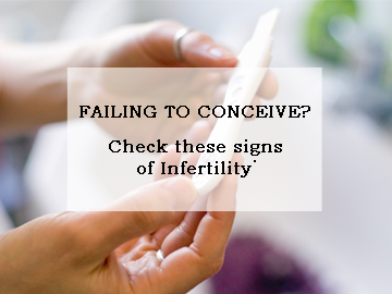 Failing to Conceive Check these signs of Infertility