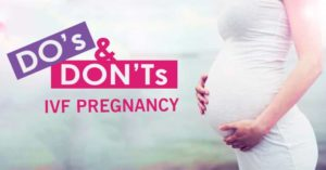 A reflection into the Dos and Don'ts for before and after In-Vitro Fertilization treatments