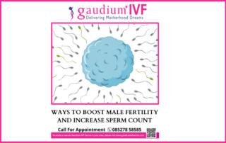 Ways to boost Male fertility